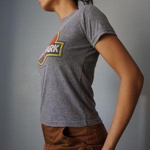 Universal Studios Shirts & Tops - Jurassic Park Graphic Logo Youth M T Shirt